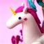Kit décor cloche verre Paradis de la licorne