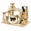 Lot de 5 puzzles 3D bois Chats joueurs