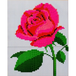 Mosaic Art : Rose