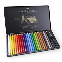 Boîte 24 crayons aquarellables magnum