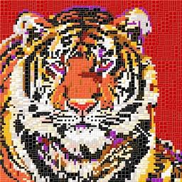 Mosaïc Art XL : Tigre
