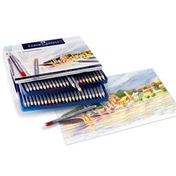 Boîte métal 48 crayons couleur Goldfaber