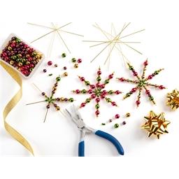 Kit 5 étoiles perles classiques à créer