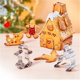 Kit emporte-pièce Noël 3D