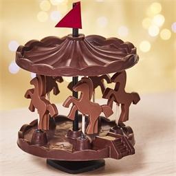 Moule mini-carrousel en chocolat