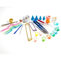 Kit d'accessoires pour tricoter