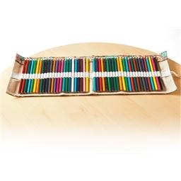 Pochette 48 crayons couleur à dérouler