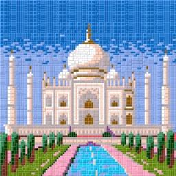 Mosaïc Art XL : Taj Mahal