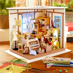 Maison miniature à créer Atelier couture
