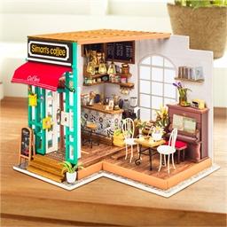 Maison miniature à créer Salon de thé