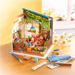 Maison miniature à créer Balcon fleuri