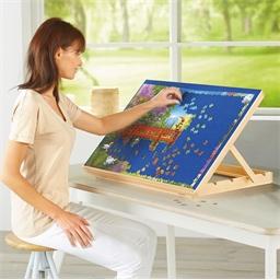 Table d'appoint pour puzzles