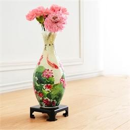 Puzzle vase 3D Lotus