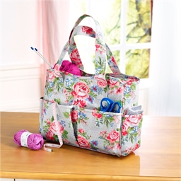 """Sac à ouvrages """"Roses"""""""