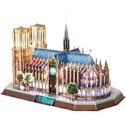 Puzzle monument 3D Notre Dame de Paris