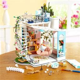 Maison miniature à créer Studio