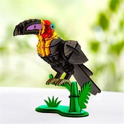 Puzzle bois 3D Toucan