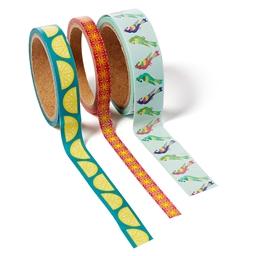 Set de 3 masking tape perroquets