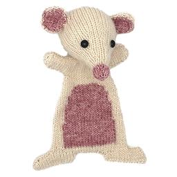 Kit doudou tricot Souris