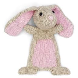 Kit doudou tricot Lapin