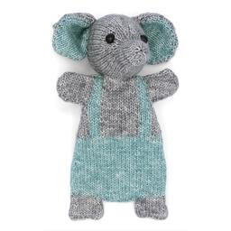 Kit doudou tricot Eléphant