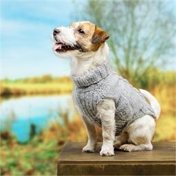 Kit manteau pour chien à tricoter