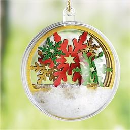 Set boule de Noël Flocon
