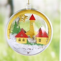 Set boule de Noël Village