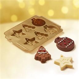 Moule décorations de Noël en chocolat