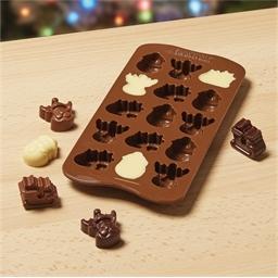 Moule silicone chocolats de Noël