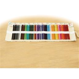 Pochette 48 crayons de couleur à dérouler