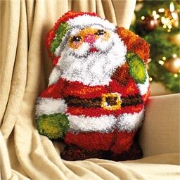 Kit coussin point noué Père Noël