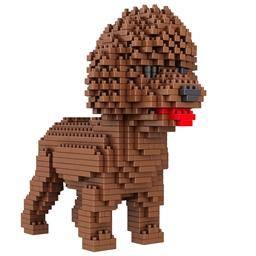 Puzzle 3D chien de compagnie Caniche