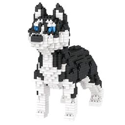 Puzzle 3D chien de compagnie Husky