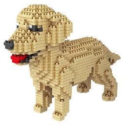 Puzzle 3D chien de compagnie Labrador