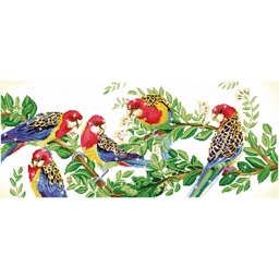 Kit perles à coller Les perroquets