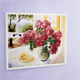 Kit perles à coller Bouquet de roses