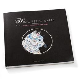 Coloriages Histoires de chats