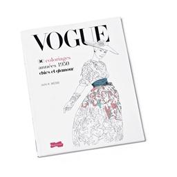 Vogue 90 coloriages années 50 chics & glamour