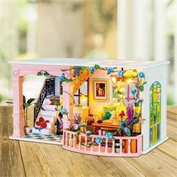 Maison miniature à créer Joli patio