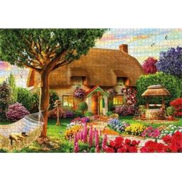 Puzzle 1000 pièces Eté fleuri
