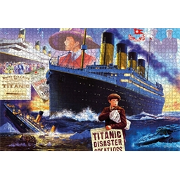 Puzzle 1000 pièces Titanic