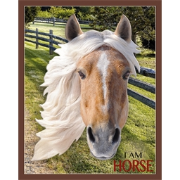 Puzzle forme Cheval