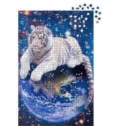 Puzzle crystal swarovski Tigre blanc