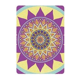 Kit de 3 tableaux en sable coloré Mandala