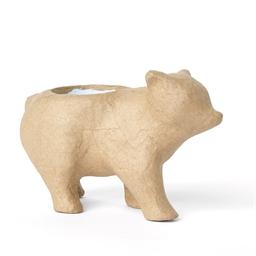 Cache-pots papier maché Ours