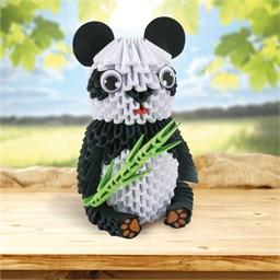Kit origami 3D Panda