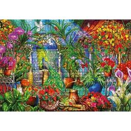 Puzzle 1000 pièces Jardin tropical