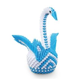 Kit origami 3D cygne