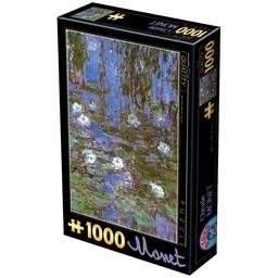 Puzzle 1000 pièces Nénuphars